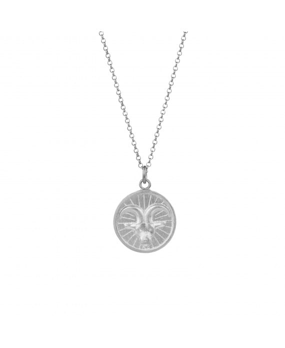 Necklace Capricorn in Silver