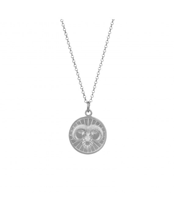 Necklace Aries in Silver
