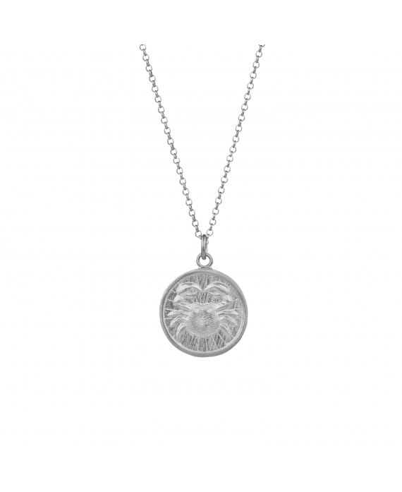 Necklace Cancer in Silver