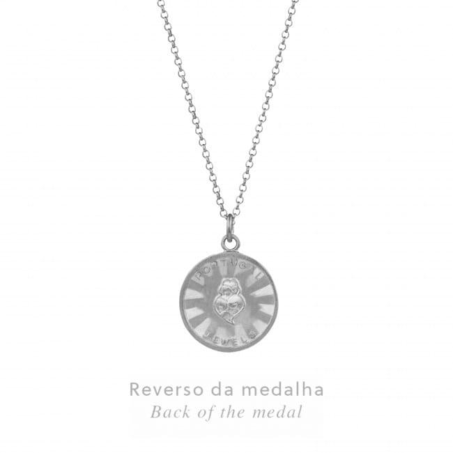 Necklace Gemini in Silver