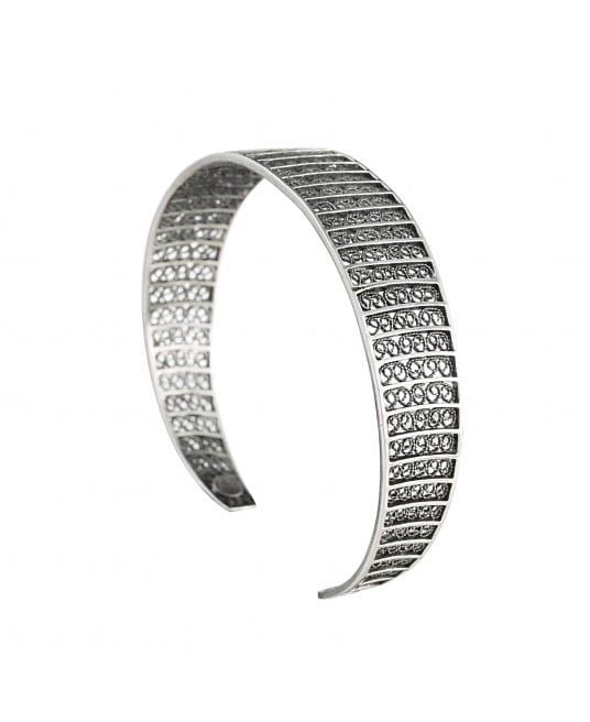 Bracelet Circles 1,5cm in Silver