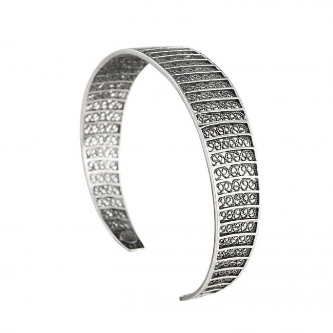 Bracelet Circles in Silver