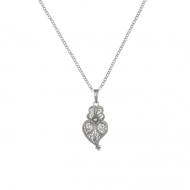 Necklace Heart of Viana 2,5cm in Silver
