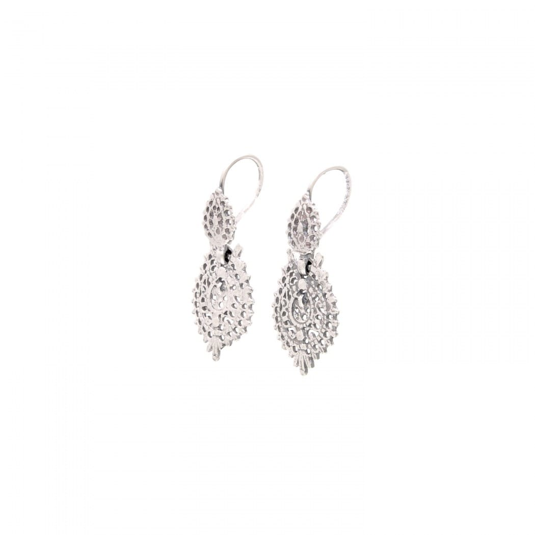 Queen Earrings 2,5cm in Silver