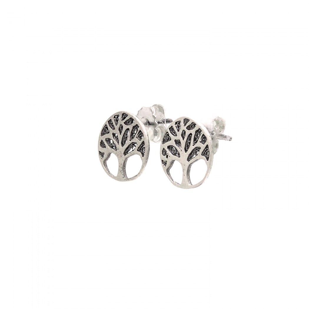 Brincos Árvore da Vida em Prata