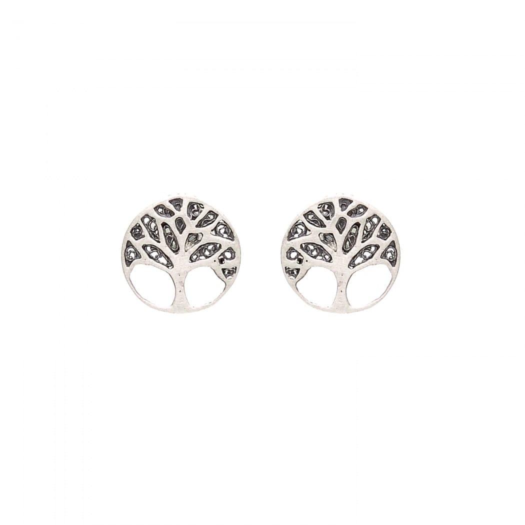 Earrings Tree of Life in Silver