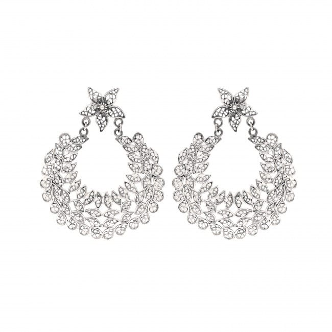 Earrings Ciclo in Silver