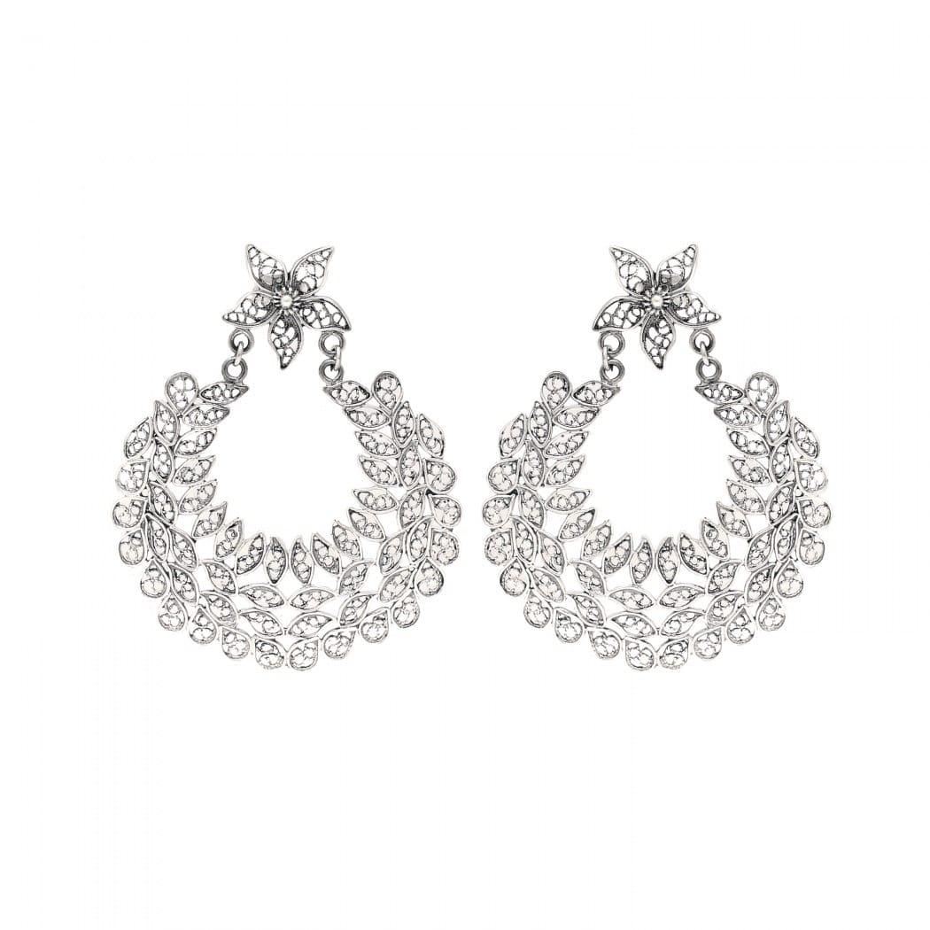 Earrings Ciclo in Silver