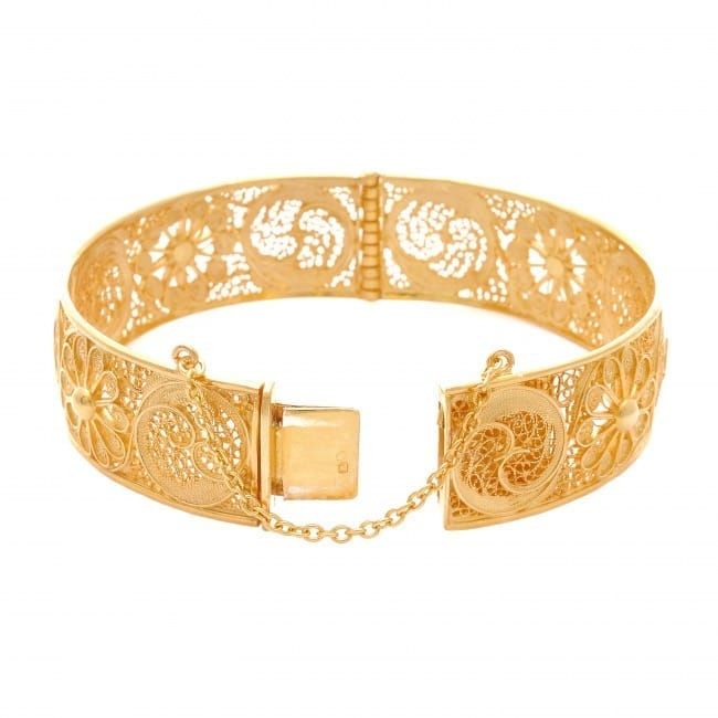 Bracelet Ciclo in Gold Plated Silver