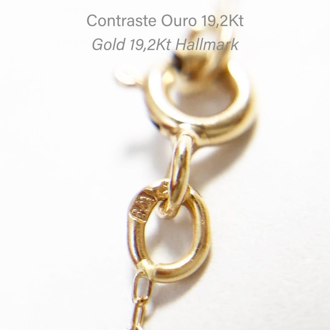 Colar Caramujo em Ouro 19,2kt
