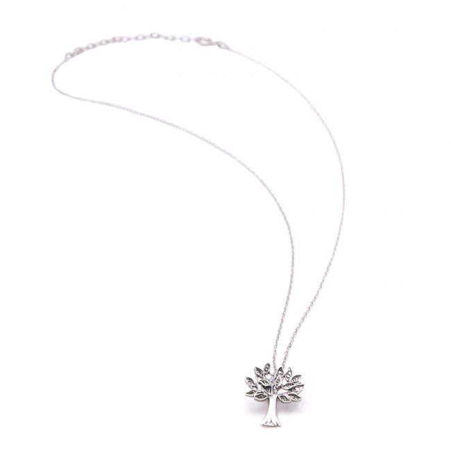 Necklace Cork Oak in Silver