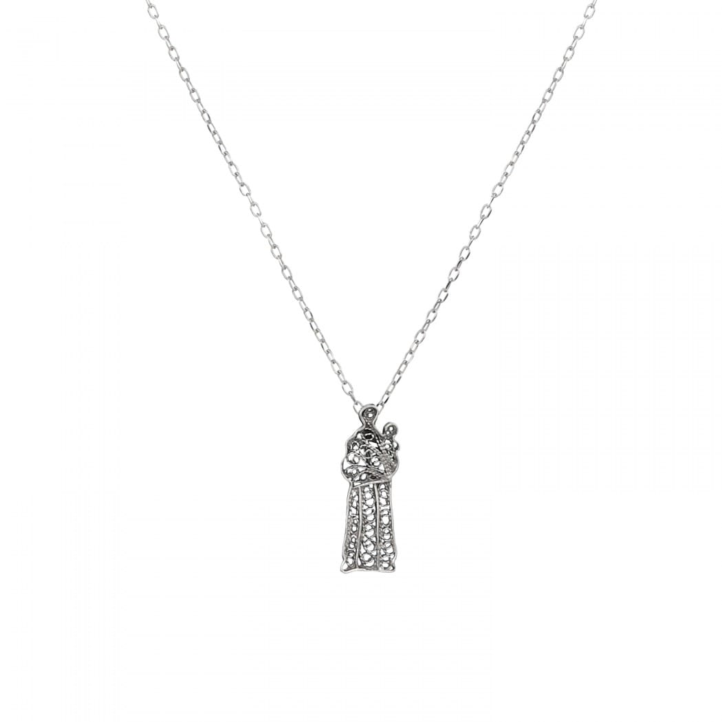 Necklace St. Anthony in Silver