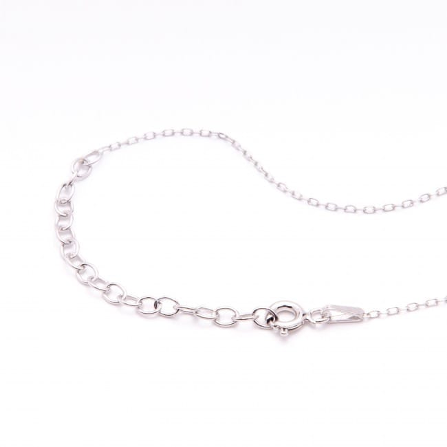 Necklace Viana's Conta in Silver