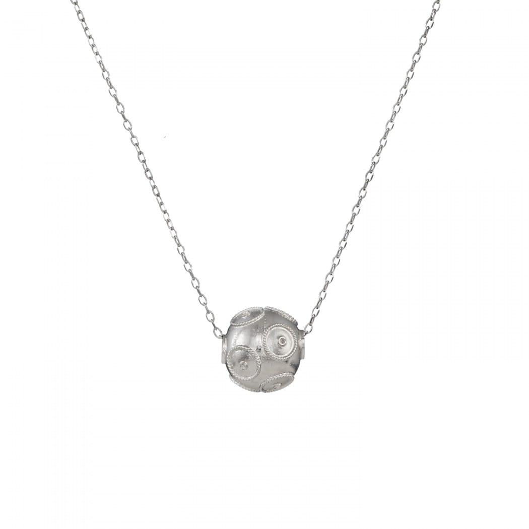 Necklace Viana's Conta in Silver