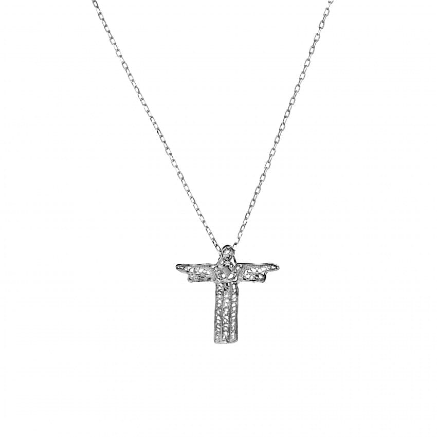 Necklace Christ the King in Silver