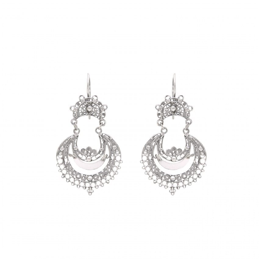 Earrings Arrecadas in Silver