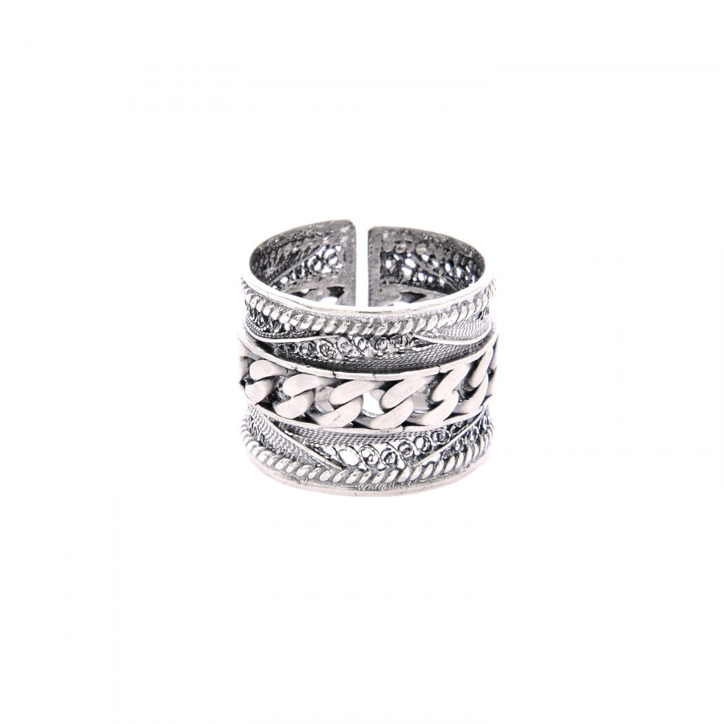 Ring Rope in Silver