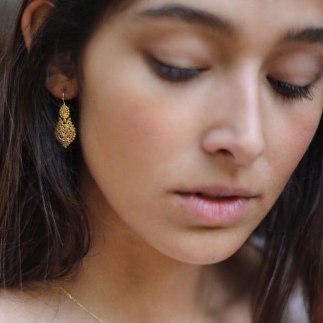 Queen Earrings 2,5cm in Silver