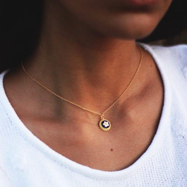 Necklace Caramujo in Silver