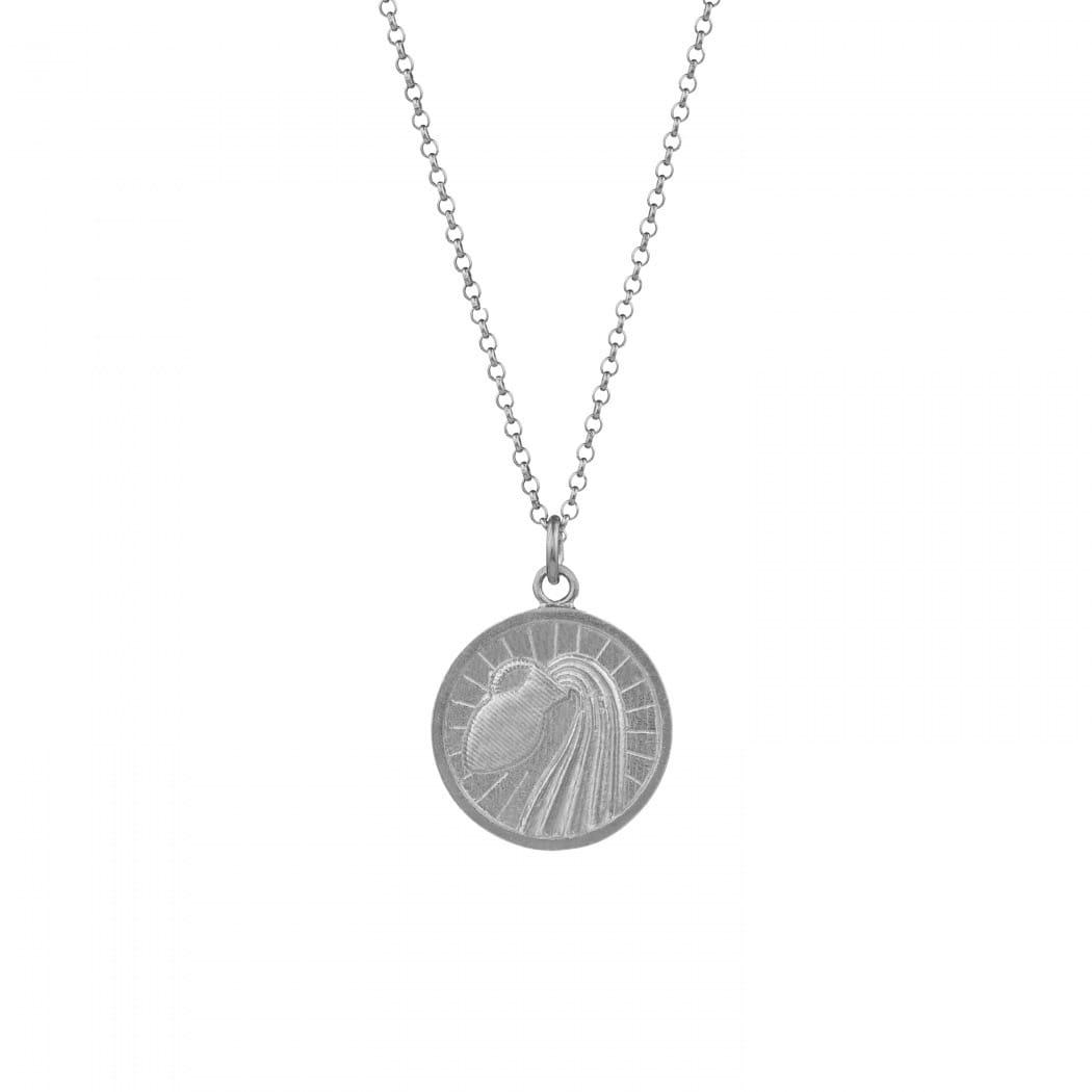 Necklace Aquarius in Silver