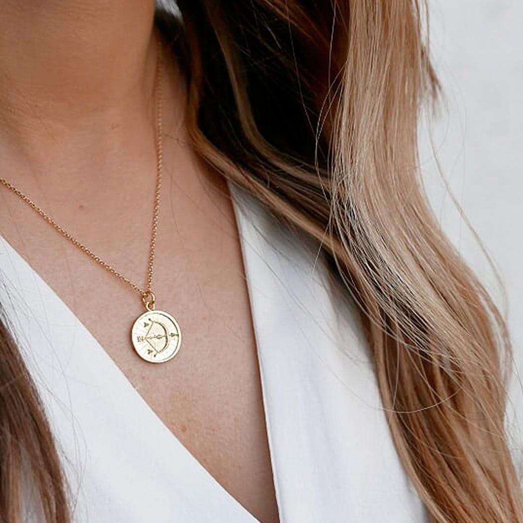 Necklace Sagittarius in Silver