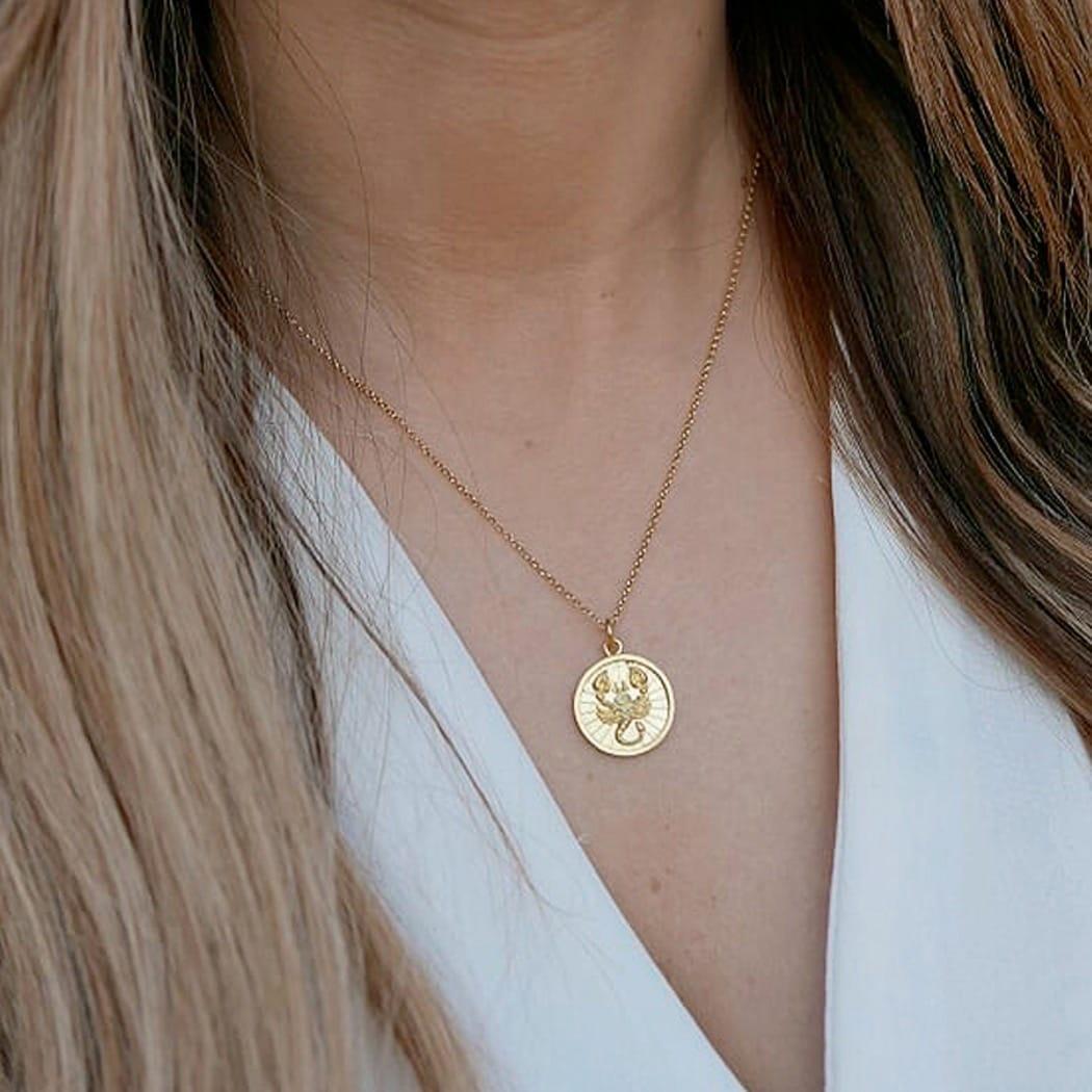 Necklace Scorpio in Silver