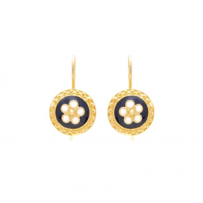 Earrings Caramujo in 19,2Kt Gold