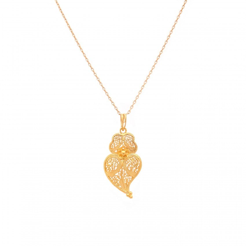 Necklace Heart of Viana M in 9Kt Gold