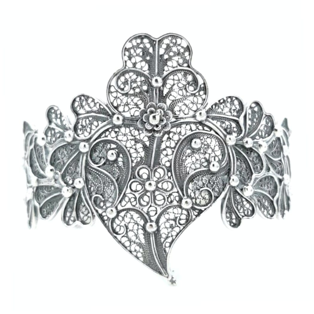 Bracelet Heart of Viana XL in Silver