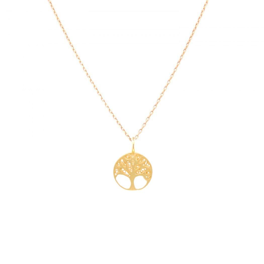 Colar Árvore da Vida em ouro 19,2Kt