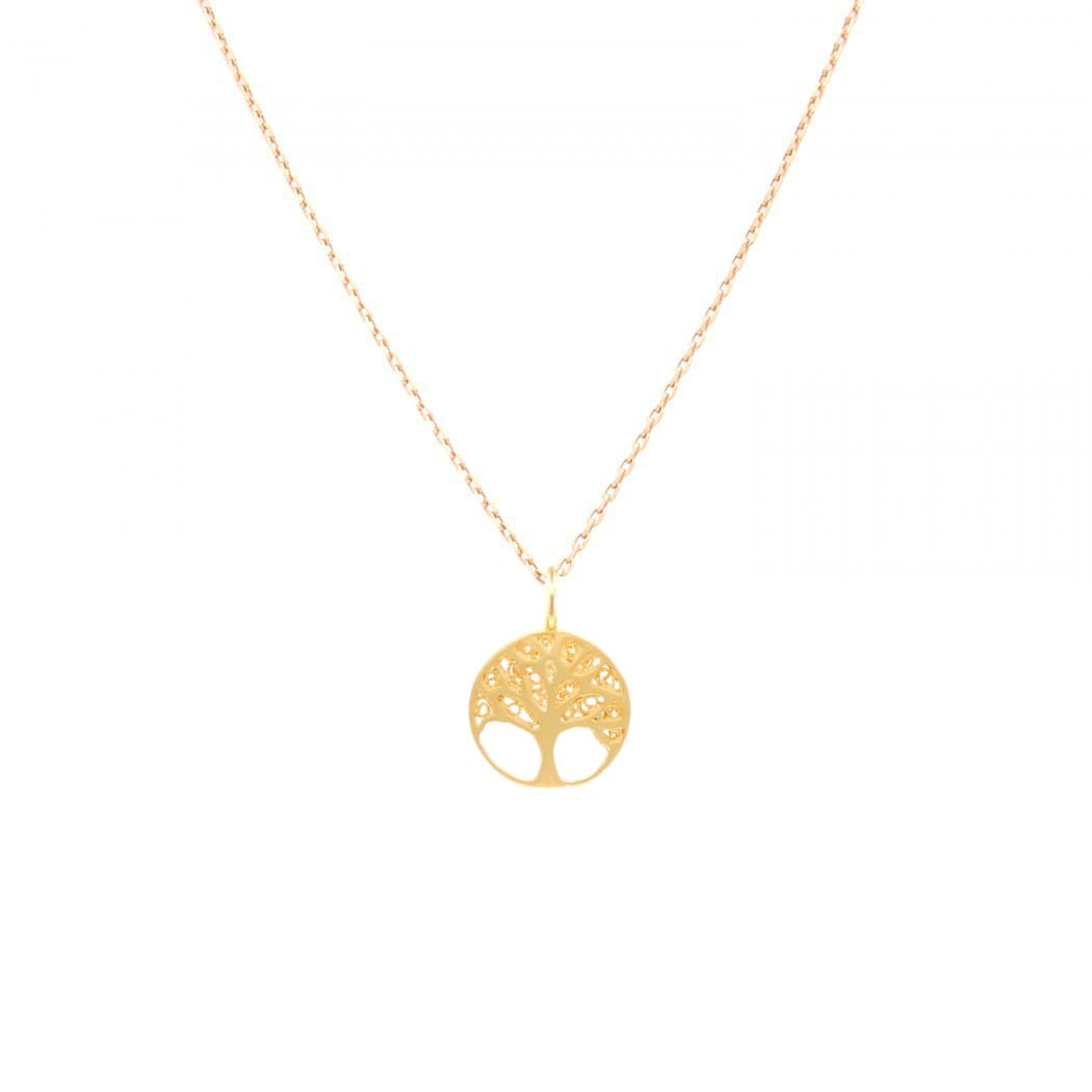 Necklace Tree of Life in 19,2Kt Gold