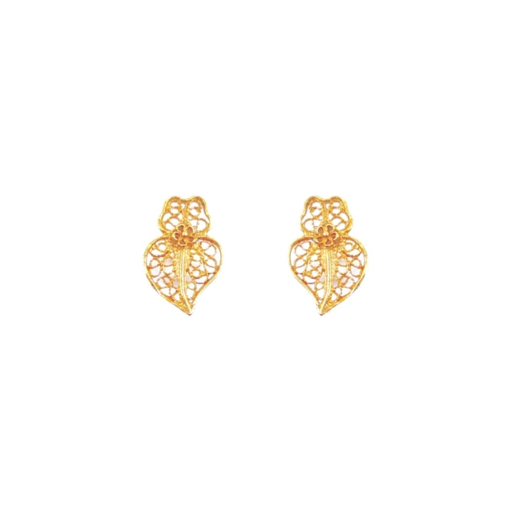 Earrings Heart Viana XXS in 19,2Kt Gold