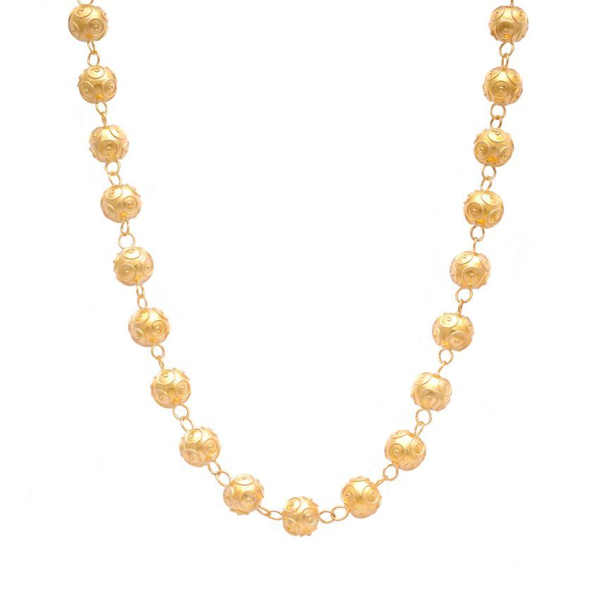 Necklace Contas in 19,2Kt Gold