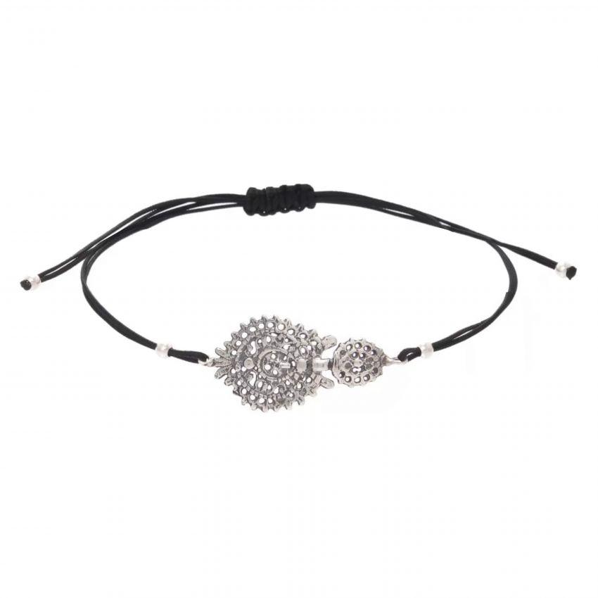 Bracelet Queen Earring in Silver