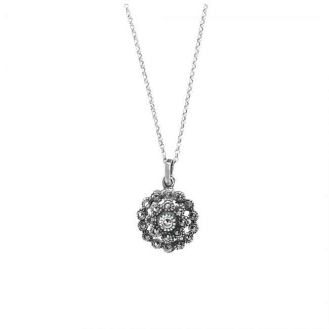 Set Pinecone in Silver
