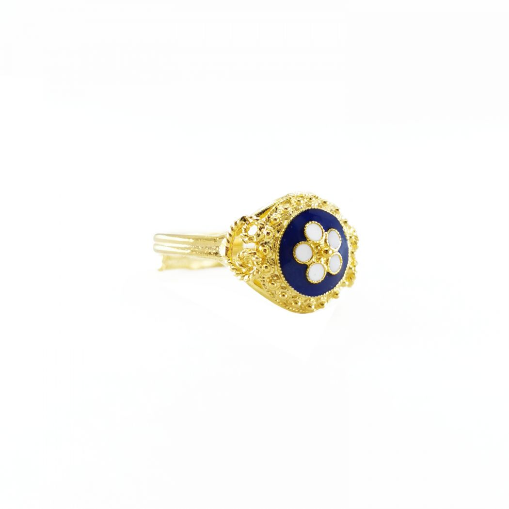 Ring Caramujo in Gold Plated Silver