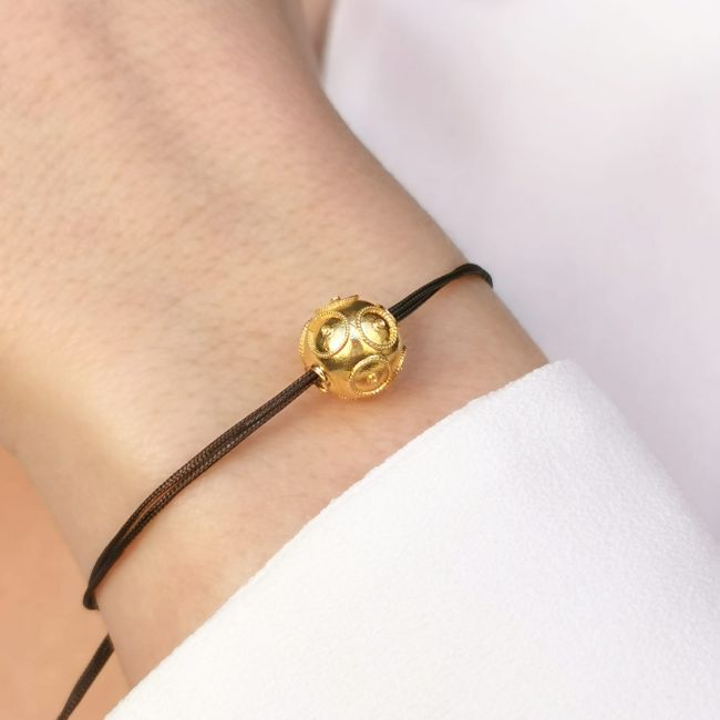 Bracelet Viana´s Conta in Gold Plated Silver