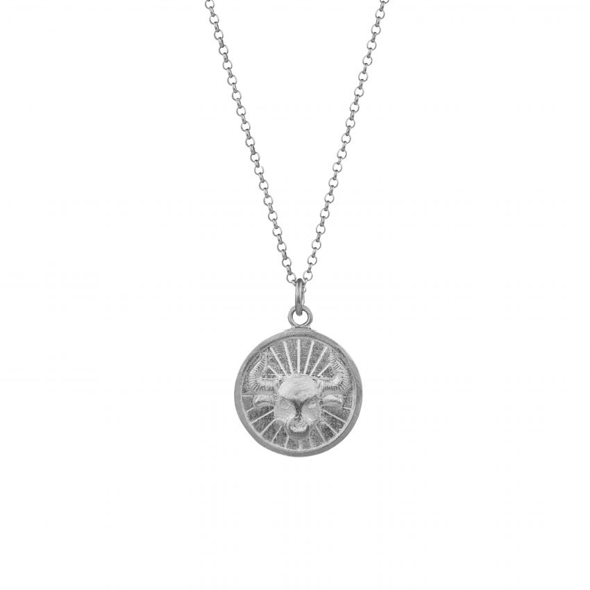 Necklace Taurus in Silver