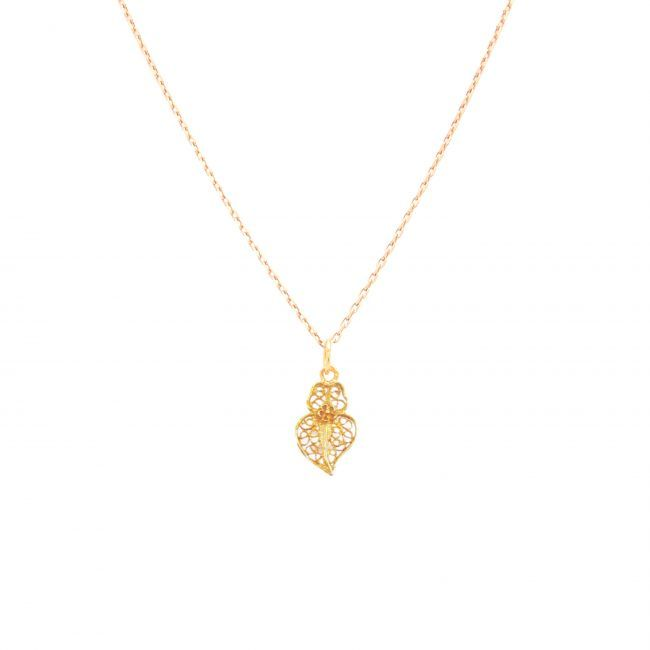 Necklace Heart of Viana XXS in 19,2Kt Gold