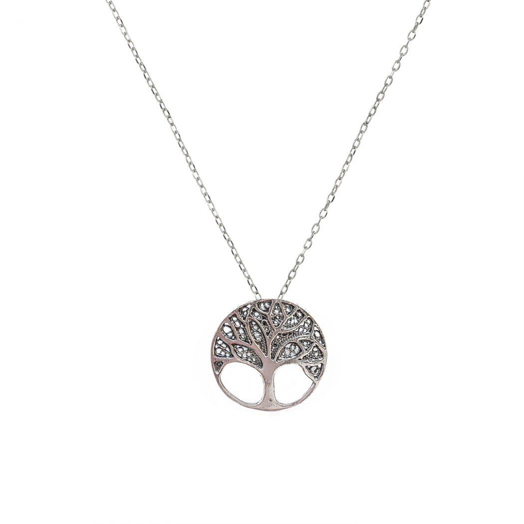 Colar Árvore da Vida em Prata