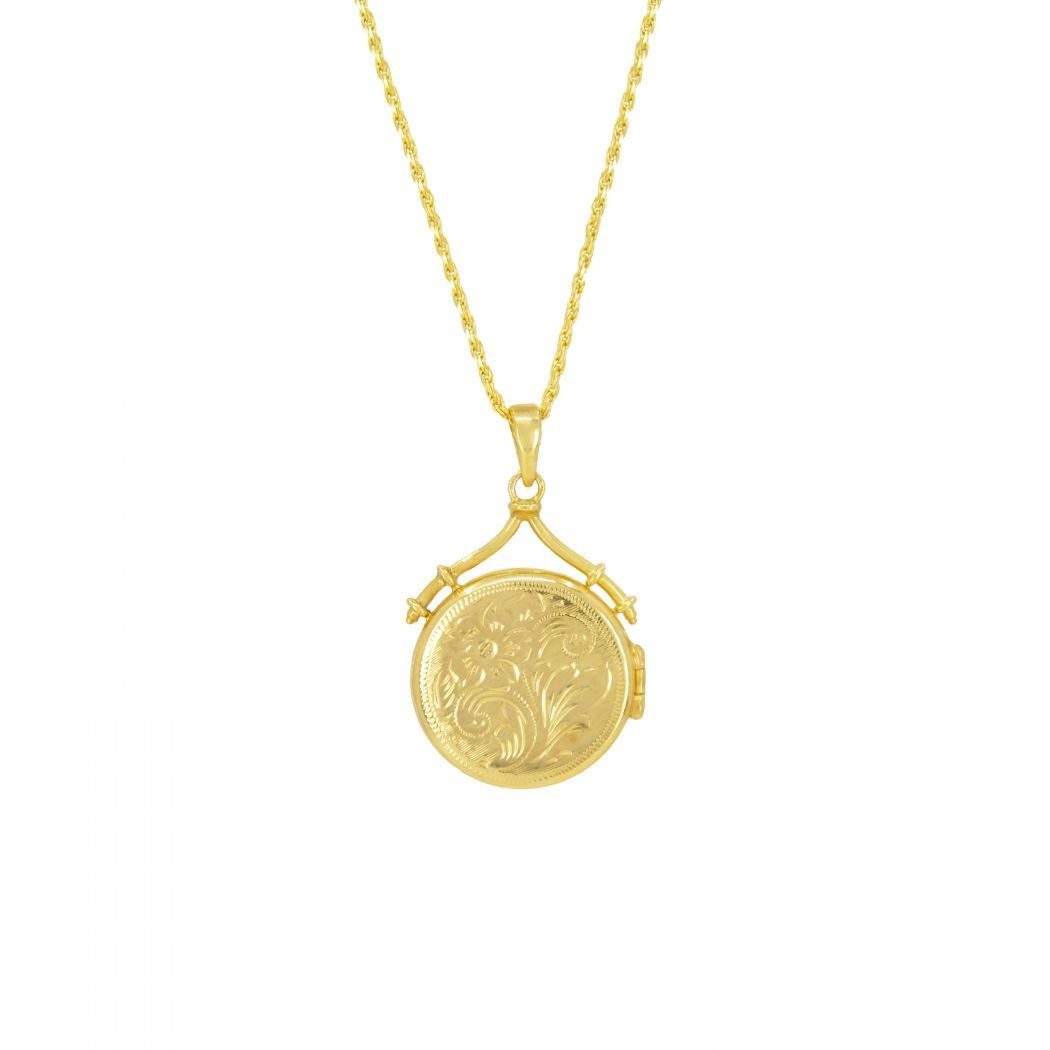 Necklace Memoria in Gold Plated Silver