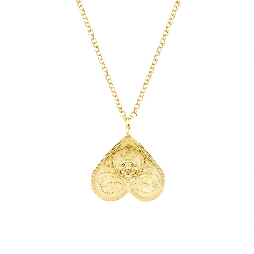 Necklace Butterfly in Gold Plated Silver