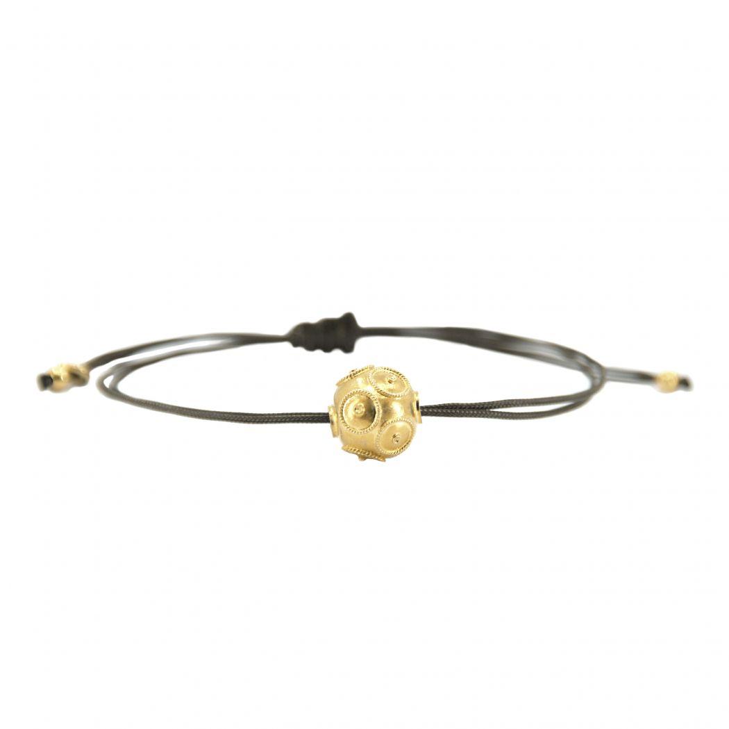 Bracelet Viana´s Conta in Gold Plated Silver
