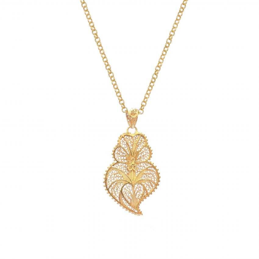 Necklace Mother's Day in Gold Plated Silver