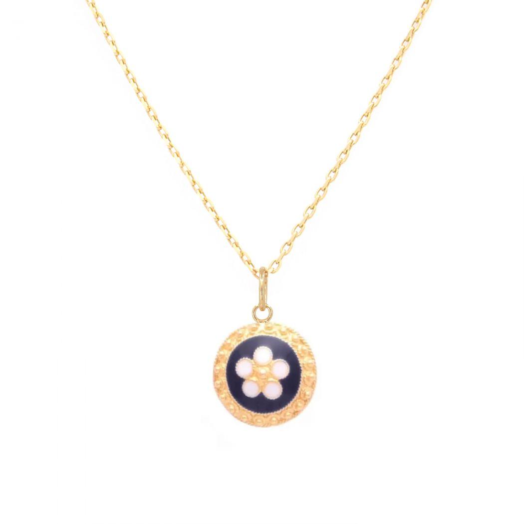 Necklace Caramujo in Gold Plated Silver