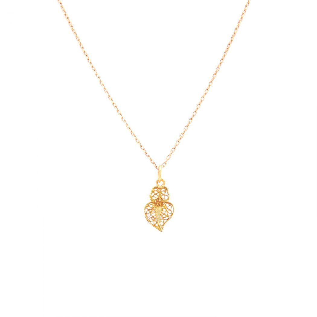 Necklace Heart of Viana XXS in 9Kt Gold