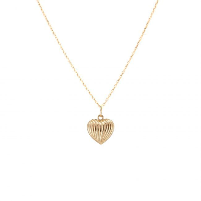 Necklace Heart in 9Kt Gold