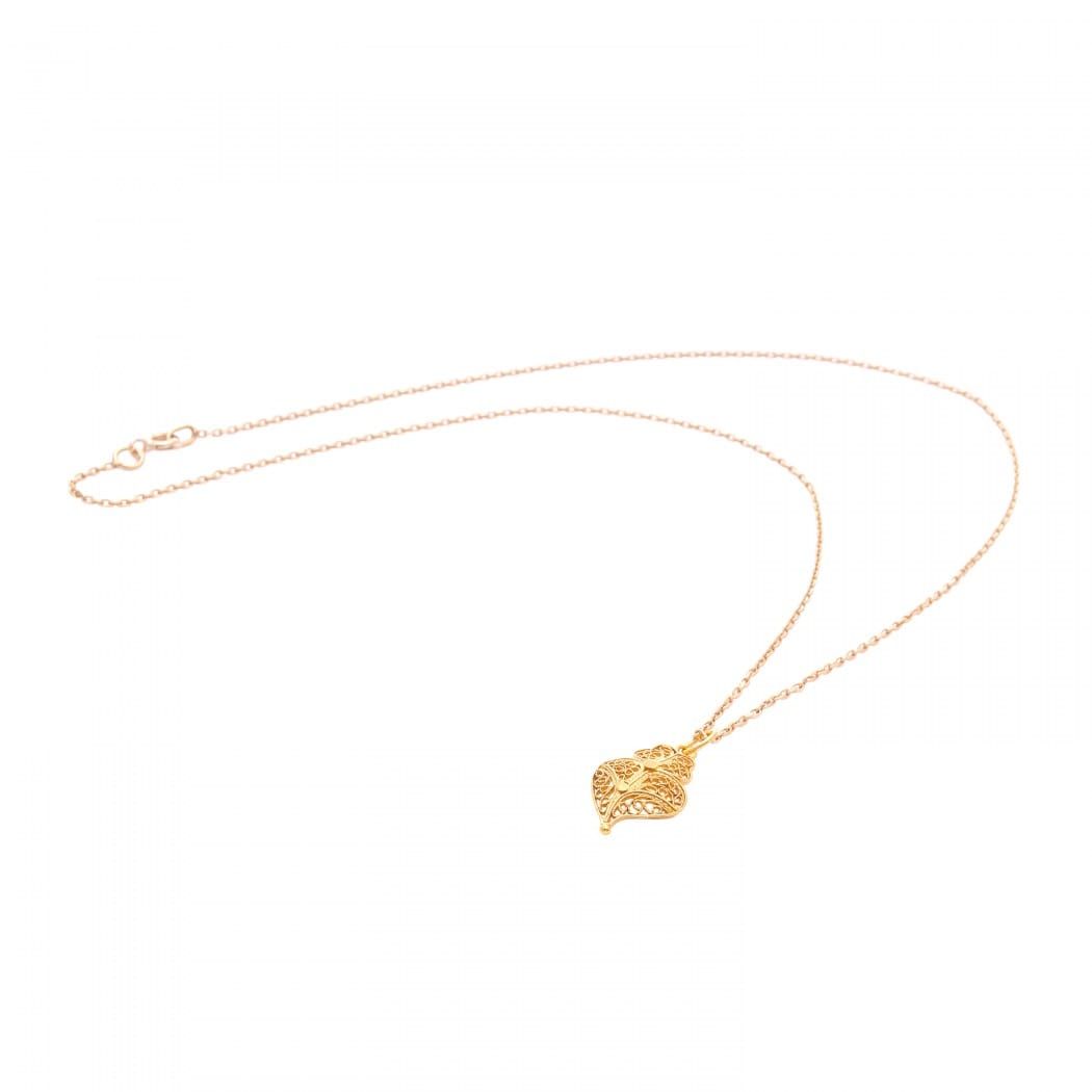 Necklace Heart of Viana XS in 9Kt Gold