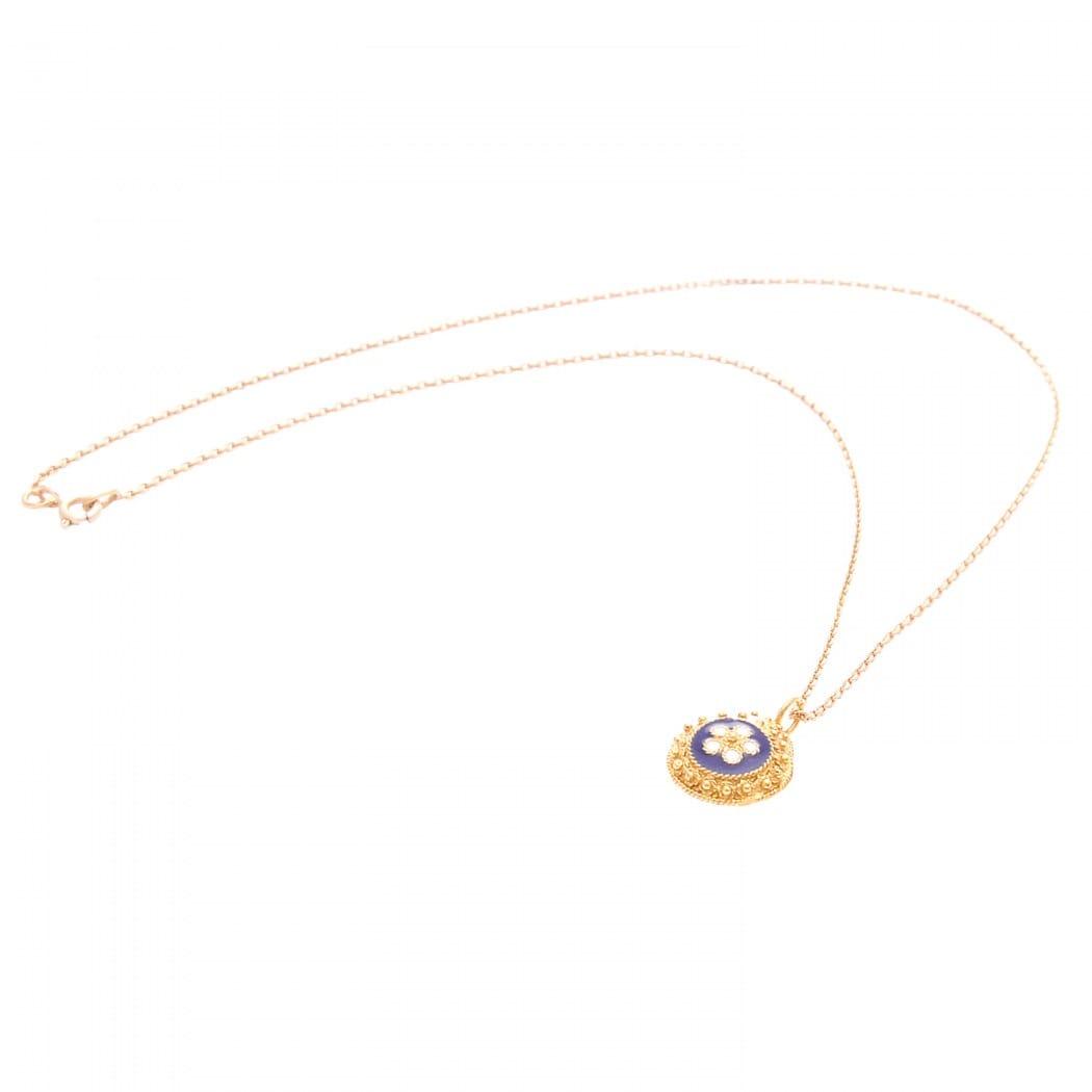 Necklace Caramujo in 9Kt Gold