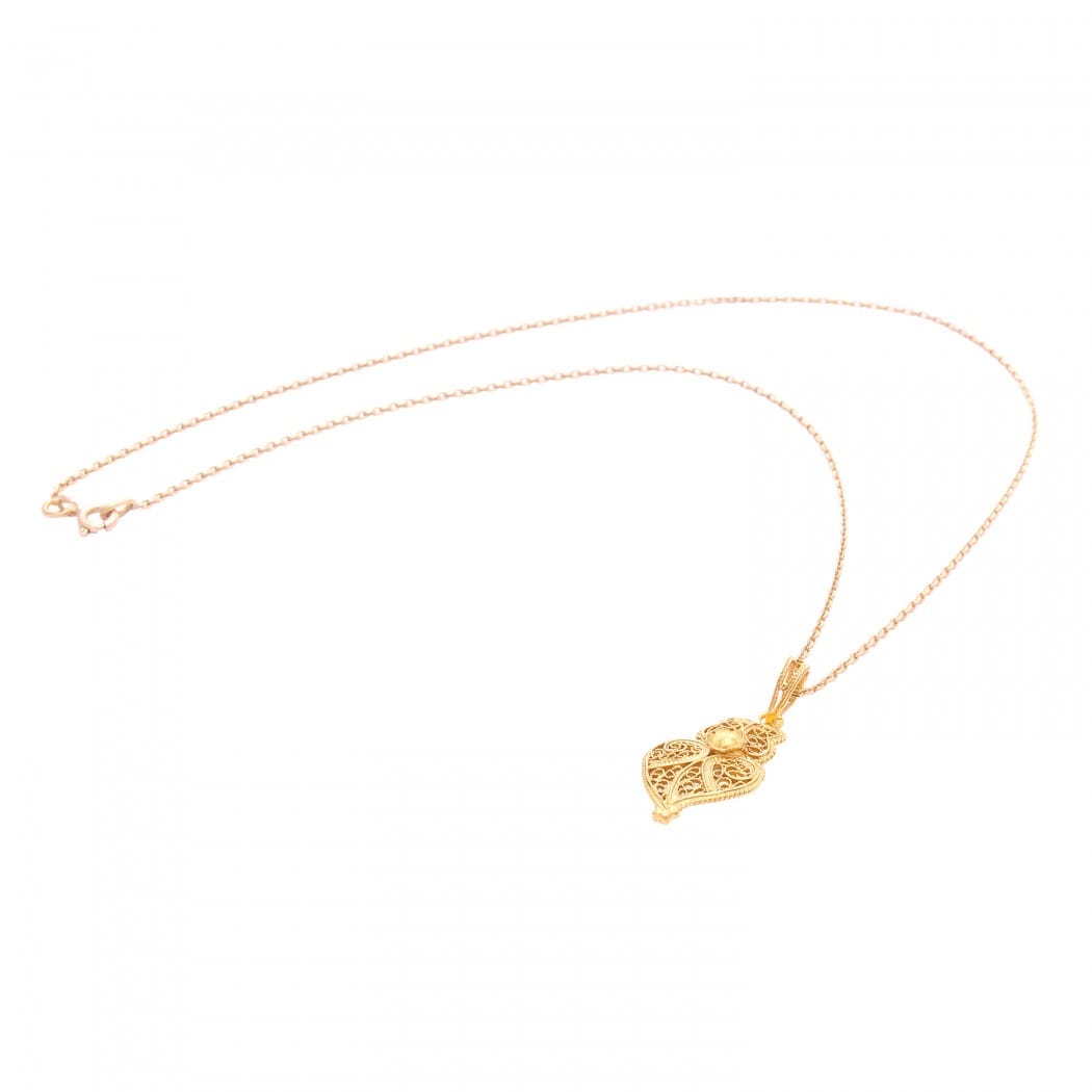 Necklace Heart of Viana S in 9Kt Gold